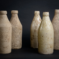 19th Century Stoneware Bottles